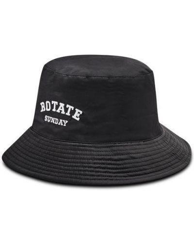 Czarny kapelusz Rotate