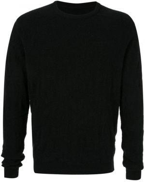 Черный свитер свободного кроя Zambesi
