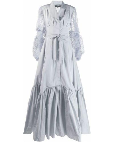 Платье макси прозрачное Avaro Figlio