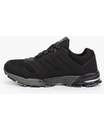 Кожаные черные кроссовки Dixer