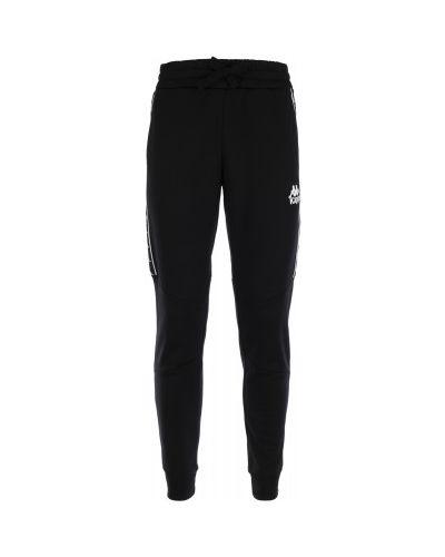 Спортивные брюки черные с карманами Kappa