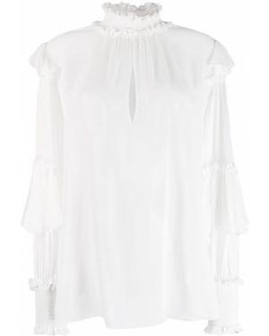 Блузка с воротником-стойкой прямая Dondup