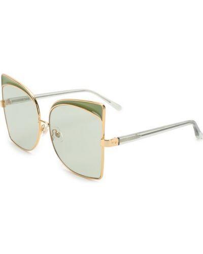 Зеленые солнцезащитные очки No. 21