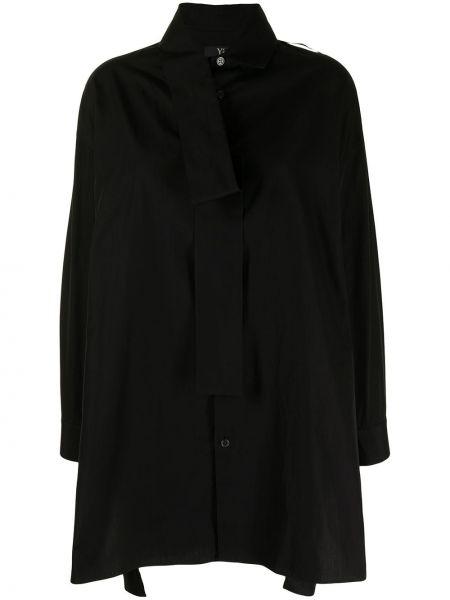 Czarny szalik bawełniany Ys