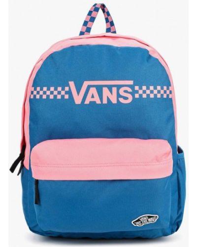 Рюкзак нейлоновый розовый Vans