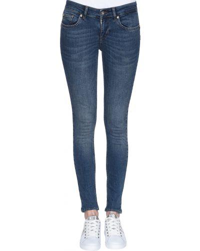 Хлопковые джинсы - синие Liu Jo