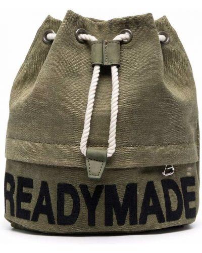 Zielona torebka z printem Readymade