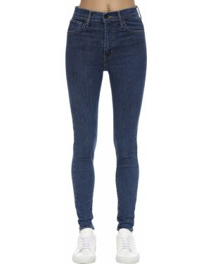 Джинсовые зауженные джинсы - синие Levi's Red Tab