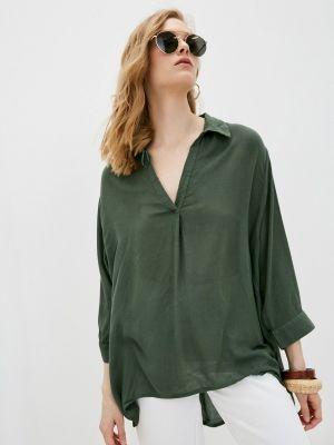 Зеленая блузка с длинными рукавами Code