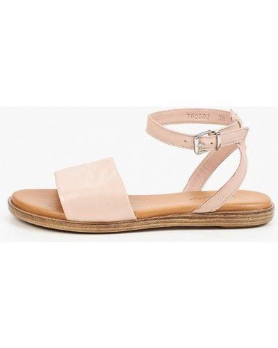 Кожаные сандалии - бежевые Inuovo