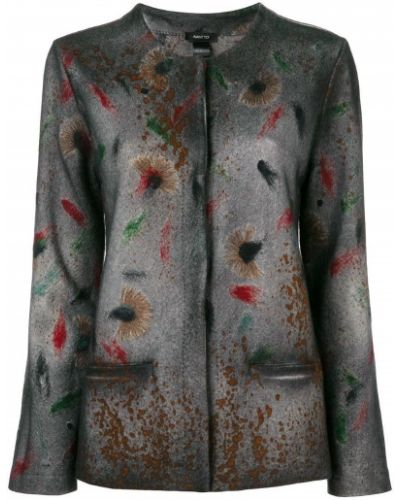 Прямой удлиненный пиджак Avant Toi