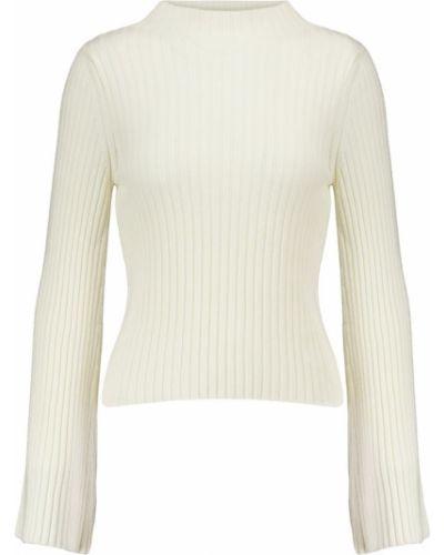 Biały z kaszmiru sweter elegancki Cordova
