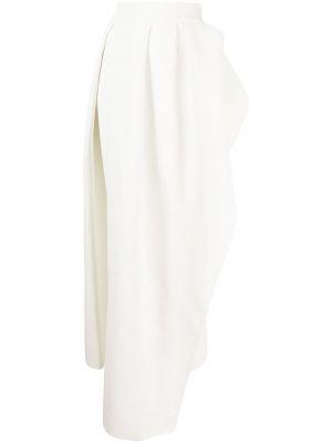 Biała długa spódnica Maticevski