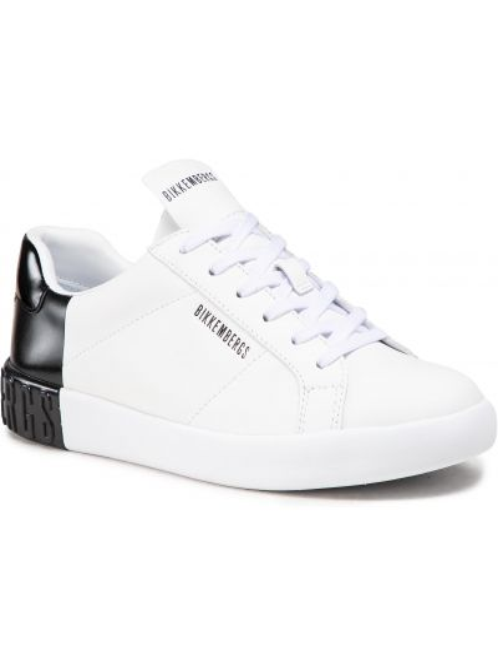 Białe półbuty casual Bikkembergs