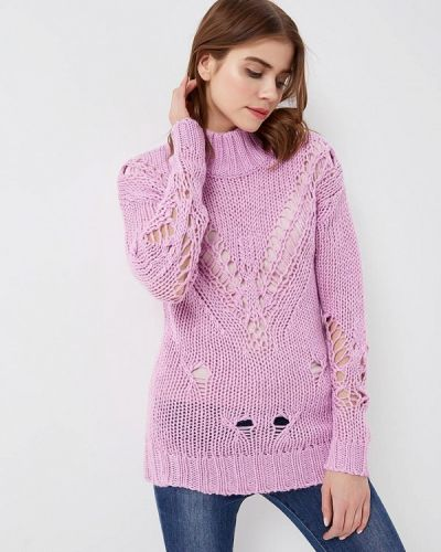 Фиолетовый свитер весенний Glamorous