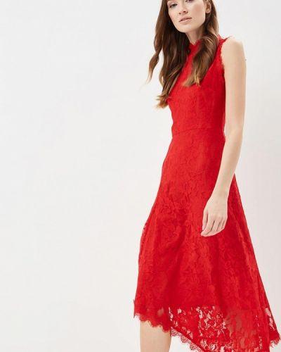 Платье красный Warehouse