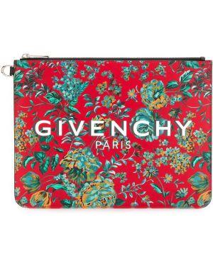Torba sprzęgło skórzany Givenchy