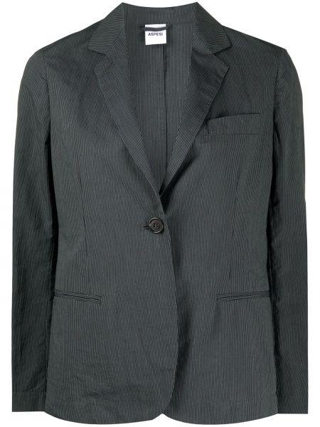 Пиджак с заплатками в полоску Aspesi