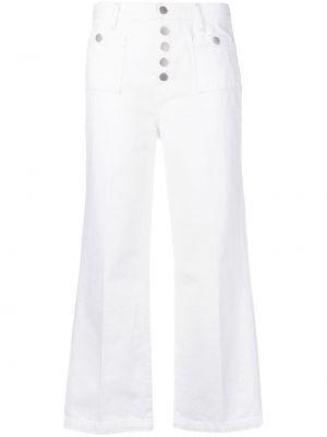 Укороченные джинсы с поясом на пуговицах в стиле бохо J Brand