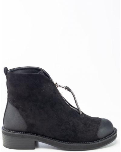 Черные ботинки Sidestep