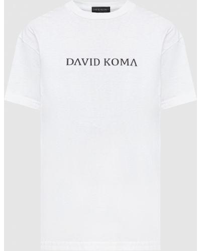 Футболка - белая David Koma