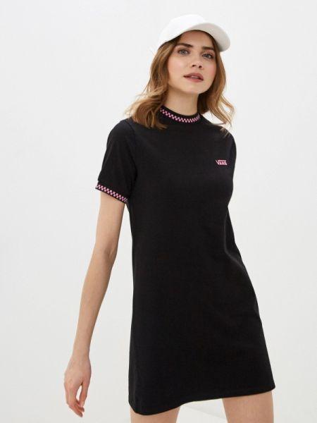 Платье платье-сарафан черное Vans