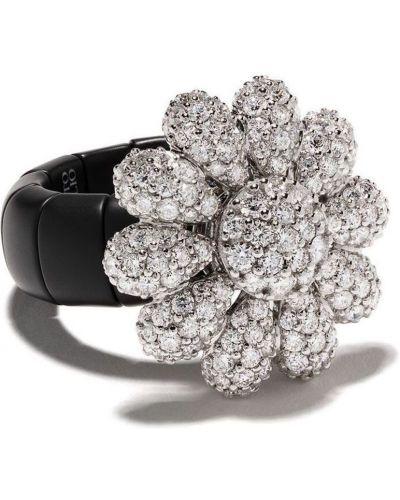 Czarny pierścionek Roberto Demeglio