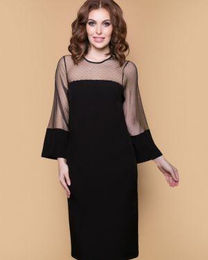 Вечернее платье с декольте сетчатое Belluche