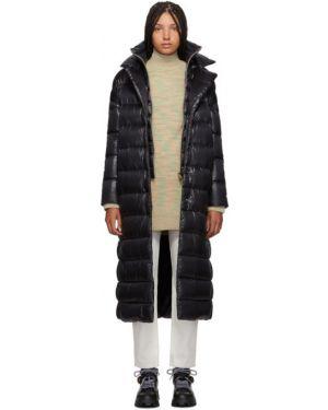 Długi płaszcz klasyczny pikowana Herno
