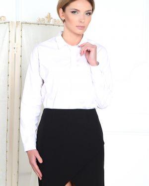 Черная юбка с запахом Valentina