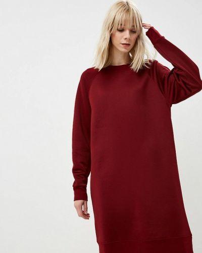 Платье бордовый весеннее Calvin Klein