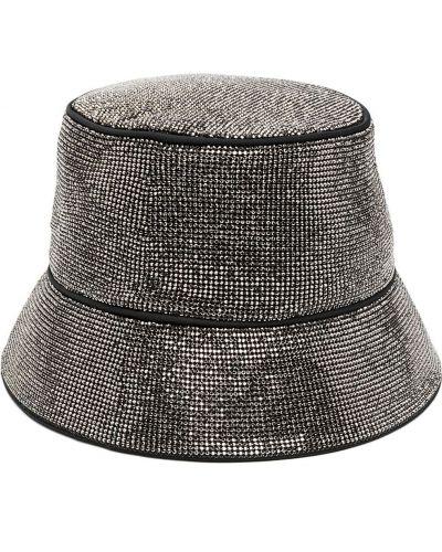 Черная шапка свободного кроя Kara