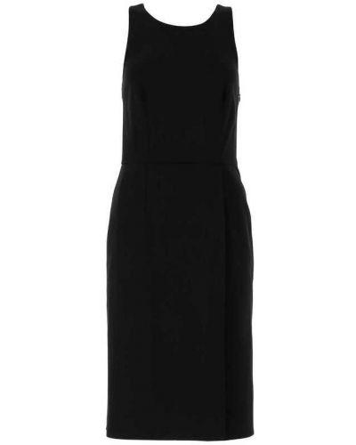 Sukienka midi elegancka - czarna Givenchy