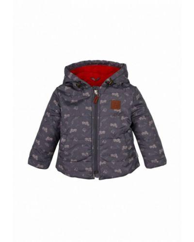 Куртка теплая серая Бемби