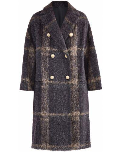 Пальто из альпаки приталенное прямое Brunello Cucinelli