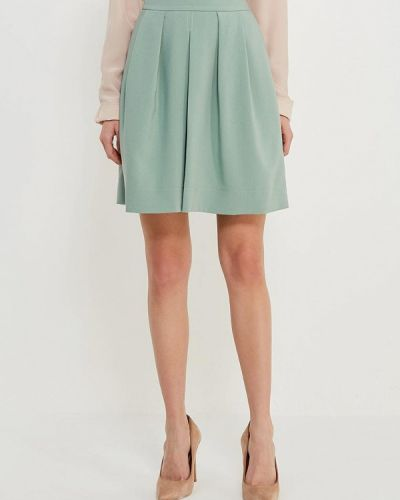 Зеленая юбка льняная Echo