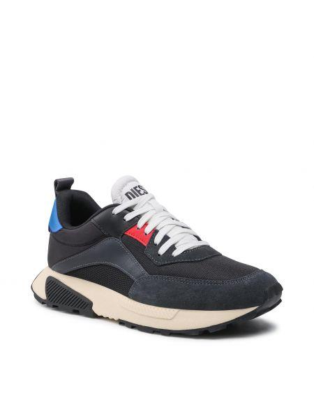 Buty sportowe skorzane - czarne Diesel