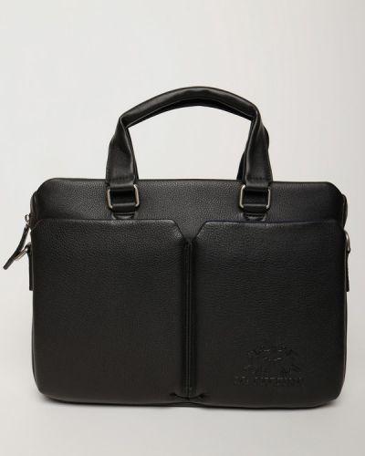 Кожаный портфель La Martina