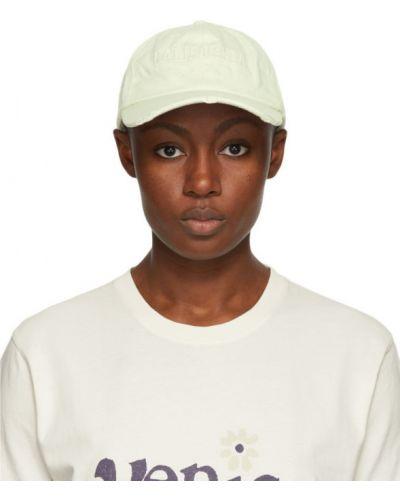 Bawełna bawełna biały czapka z daszkiem z haftem Erl