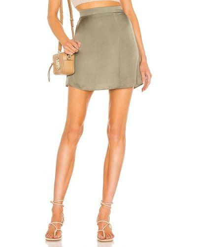 Сатиновая юбка на резинке винтажная Nation Ltd