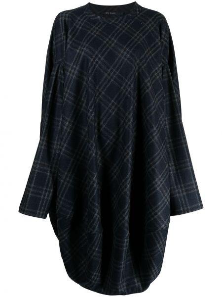 Шерстяное платье миди - синее Sofie D'hoore