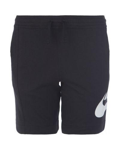 Черные шорты Nike