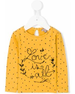 Желтая футболка Emile Et Ida