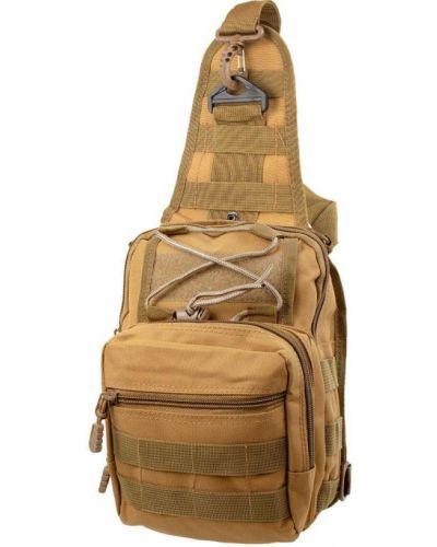 Бежевый рюкзак с карманами Valiria Fashion