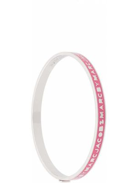 Różowa bransoletka Marc By Marc Jacobs