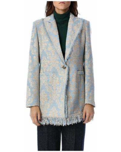 Płaszcz - niebieski Tensione In