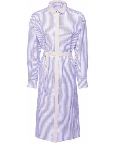 Платье рубашка - белое Agnona
