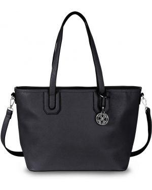 Черная сумка шоппер Bonprix