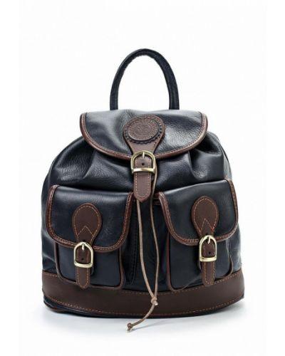 Синий рюкзак итальянский Roberta Rossi