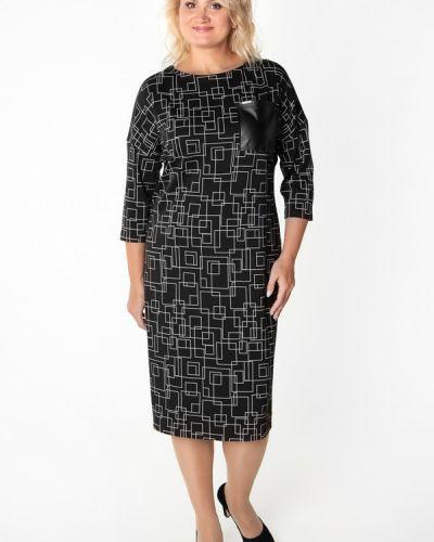 Платье из вискозы с вырезом Virgi Style